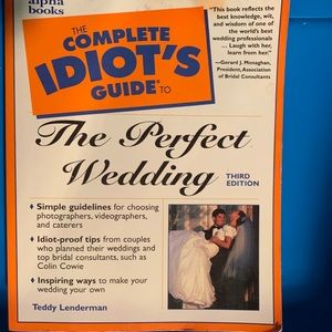 The idiots guide to the perfect wedding